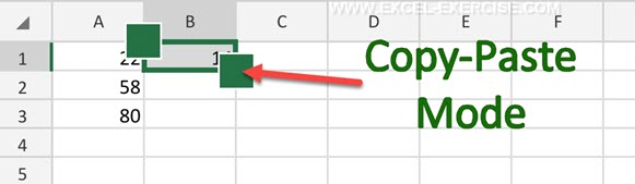 Copy Paste with Excel Mobile