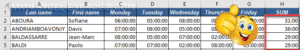Excel displays time over 24H