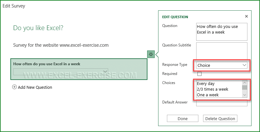 Then Simply Click On The Add A New Question To Enrich Your Questionnaire