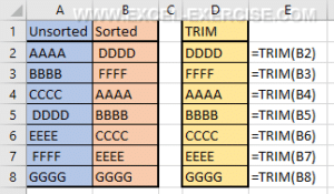 Text functions Archives - Excel Exercise